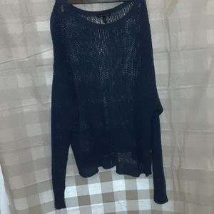 Eileen Fisher Cable knit Sweater Medium